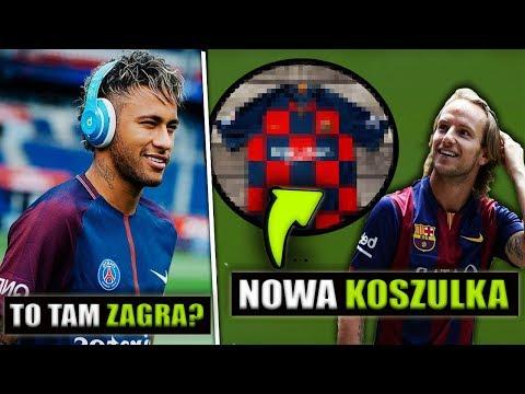 Dziwne NOWE STROJE BARCY niczym Chorwacja?.. Neymar chętny do Gry w Premier League?