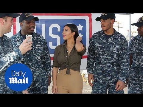 Kim boosts troop morale and Gerard Depardieu's bizarre speech - Daily Mail