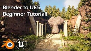 Learn Unreal Engine 5 for Blender Users - UE5 Beginner Tutorial