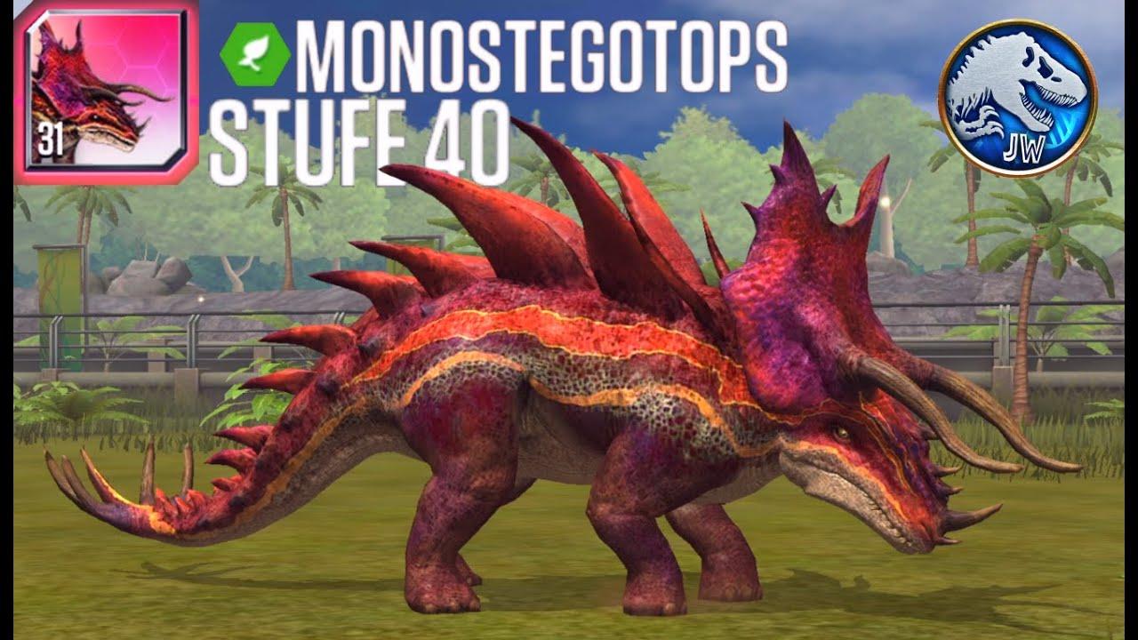 Jurassic World: Das Spiel #368 Monostegotops Lvl.40 + Online Fights! [Ger/HD] | Marcel