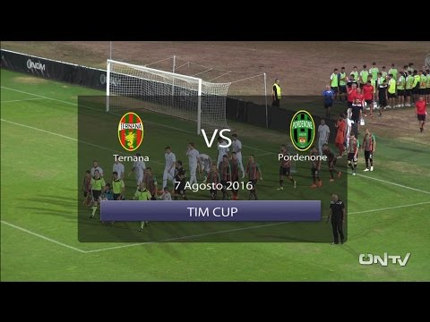 ONTV: highlights TERNANA PORDENONE Tim Cup (2-0)