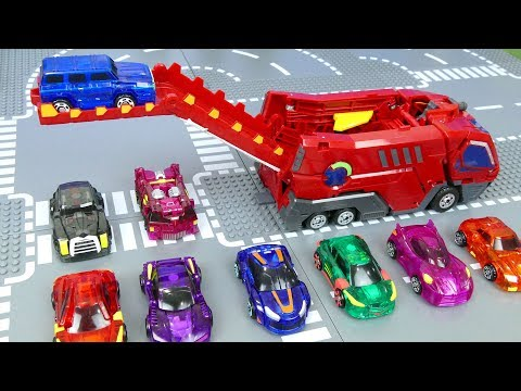 Mecard Cars Toys For Children | Transforming Mecardimals For Kids