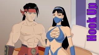 Cartoon Hook-Ups: Liu Kang and Kitana