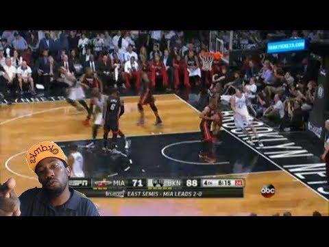 Miami Heat vs Brooklyn Nets Game 3 Nba Playoffs 2014 Nets win 2-1 reaction