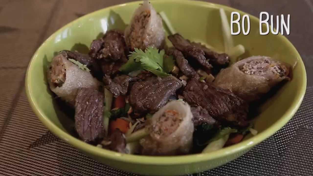 Recette du bobun salade traditionnelle vietnamienne youtube - Recettes cuisine alsacienne traditionnelle ...