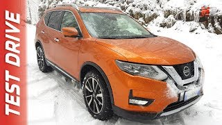 NEW NISSAN X-TRAIL 2018 - FIRST SNOW TEST DRIVE
