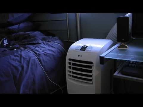 LG Electronics 7,000 BTU Portable Air Conditioner with Remote Model # LP0711WNR