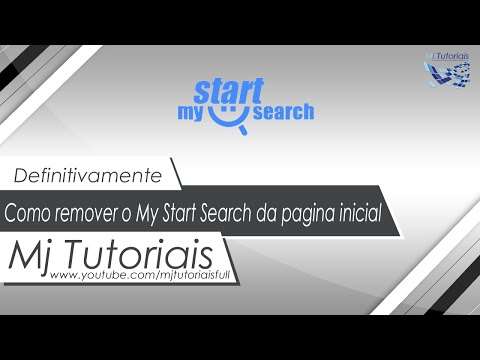 Como remover o My Start Search da pagina inicial (Definitivamente)
