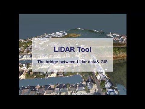 SuperGIS Desktop - LiDAR Tool