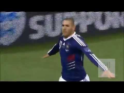 #Football : France- Angleterre, les buts de Zidane, Valbuena, Anelka et Nasri !