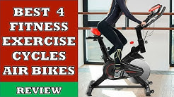 Best 4 Fitness Exercise Cycles and Air Bikes in India - Review