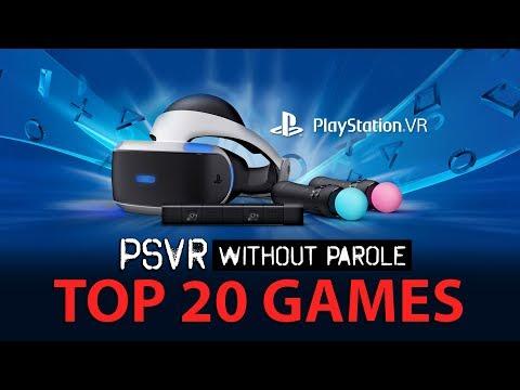 Top 20 PlayStation VR Games | May 17, 2018