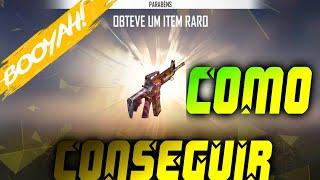 FREE FIRE- CONSEGUI A SKIN DO CARNAVAL DE PRIMEIRA!!