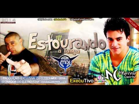 Dj Cleber Mix Feat Mc Marcelo gaucho - Estourando A Tanga (2014)