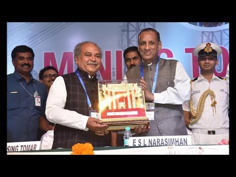 Governor ESL Narasimhan Participated International Conference on Mining 2018 in Hyderabad