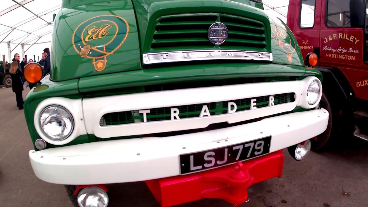 1962 Ford Thames Trader Mark 2 4x4 5.5 Litre Diesel Flatbed Truck ...