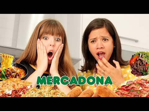 PROBANDO EL CONGELADO DEL MERCADONA ft. La Cooquette