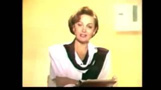 """Диктор Татьяна Судец.1-й канал ГТРК """"Останкино"""".1993 год."""
