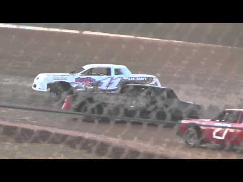 Ark La Tex Speedway Cajun Classic 2015 factory stock hot laps 2