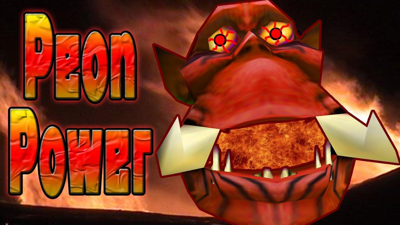 Warcraft 3 Peon Power Youtube