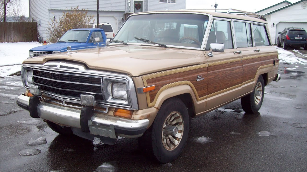 1986 jeep grand wagoneer for sale 3 450 obo youtube. Black Bedroom Furniture Sets. Home Design Ideas