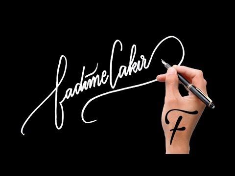 Adan Zye En Güzel Imza örnekleri F Harfi Için Denemeler Imza