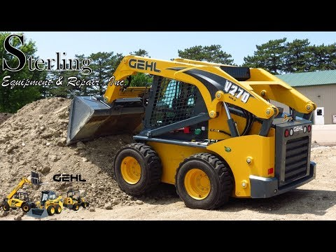 Gehl V270 Skid Loader Overview by Sterling Equipment & Repai