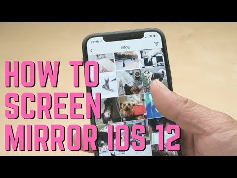 How To Screen Mirror iOS 12 iPads and iPhones to Mac and