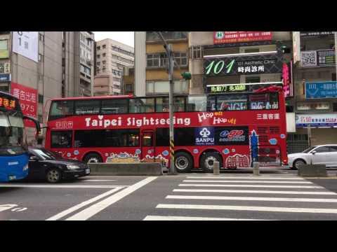 台北市 忠孝東路五段 雙層觀光巴士 Taipei Sightseeing Hop on