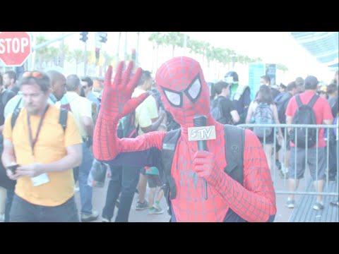 Comic-Con 2016 with Spidey-Dude!