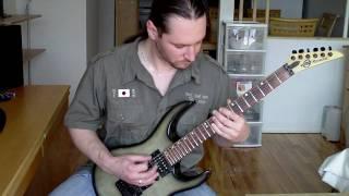 NO RETURN - Blackness - Rythm guitar cover