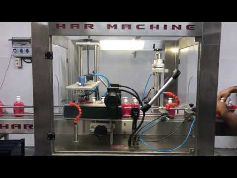 Otomatik Kapak Sıkma Makinası - Har Makina A.Ş.