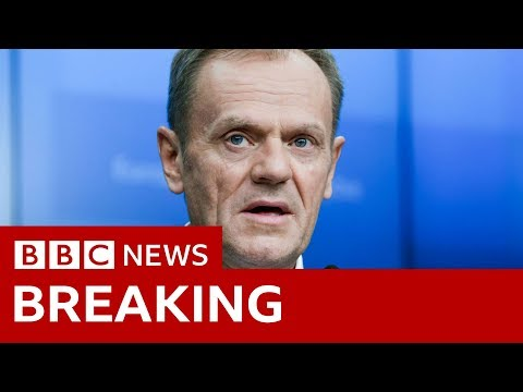Tusk: 'Please do not waste this time' - BBC News