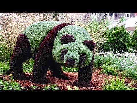 Garden sculpture art ideas on Pinterest