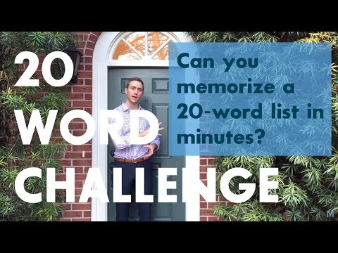 Learn How to Memorize Information With This Video From a World Memory Champion
