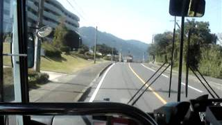 島内屋久島路線バス 西小瀬田~屋久島高校前.