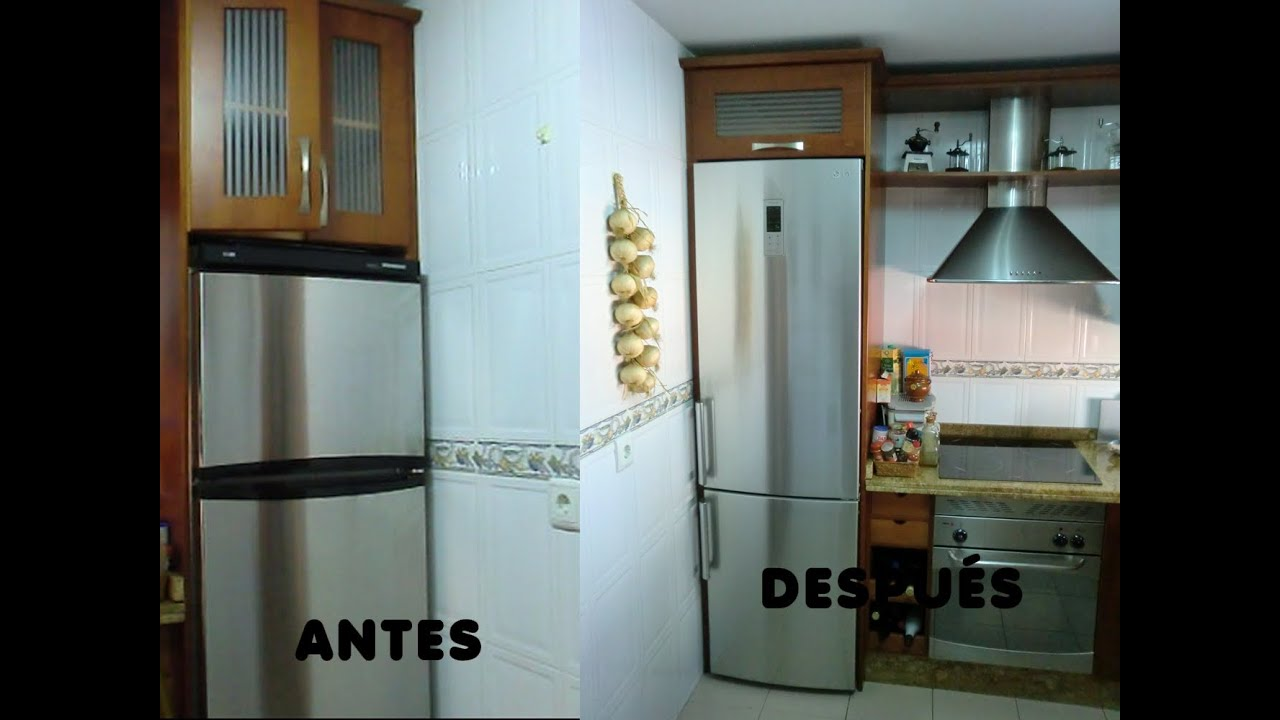 Como adaptar y modificar los modulos de los muebles de for Modulos cocinas integrales