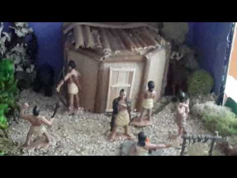 My Native American diorama for Navajo tribe!  '_'