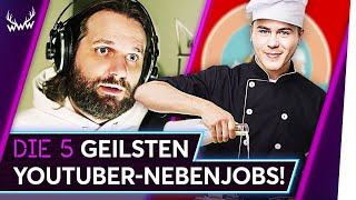 Die 5 GEILSTEN YouTuber-Nebenjobs! | TOP 5