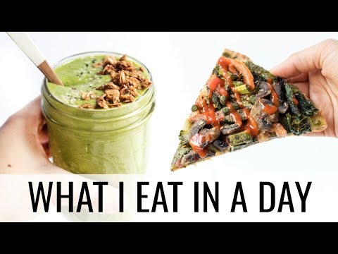 41. WHAT I EAT IN A DAY + best pre-workout snack
