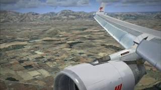 A trip to Mallorca - FSX Aerosoft Mallorca X