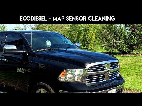 ram 1500 ecodiesel map sensor cleaning increase fuel economy - diesel trucks