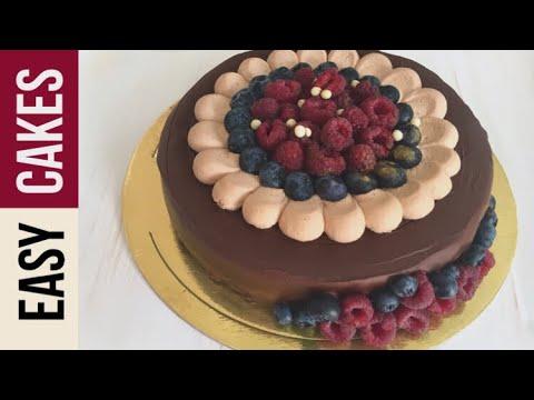Легкий рецепт торта из песочного теста