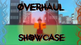 [IMPOSSIBLE CODES] OVEHAUL QUIRK SHOWCASE | MHA: ONE STAR | ROBLOX