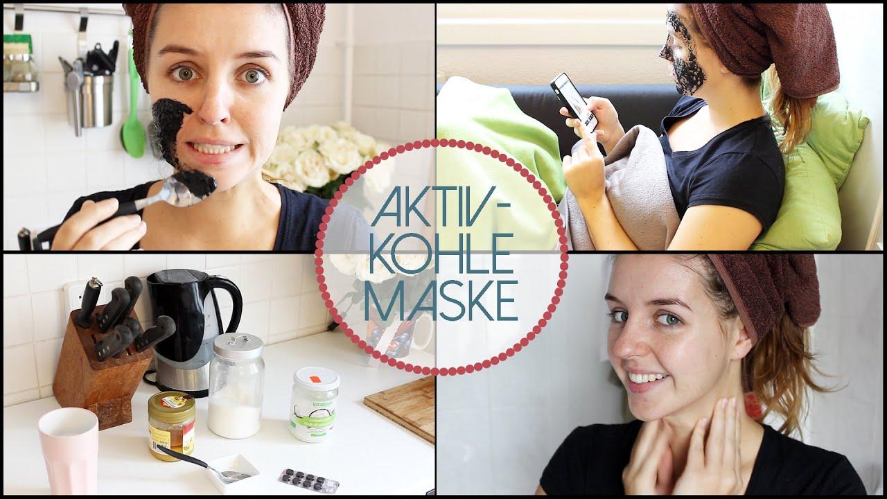 aktivkohle maske saubere poren diy lovethecosmetics youtube. Black Bedroom Furniture Sets. Home Design Ideas