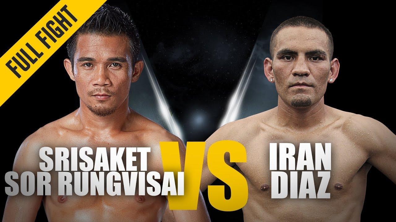 Srisaket VS Iran Diaz