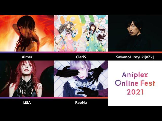 【豪華アーティスト公開!】「アニプレックス オンライン フェス 2021」7.4(JST) 第2弾PV / Aniplex Online Fest 2021 7.3(PDT) 2nd Trailer