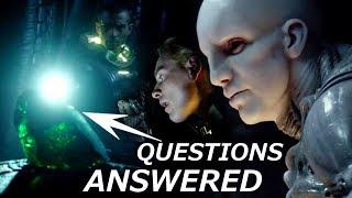 Prometheus Script Explains Green Crystal, Dumb Crew, Engineers and more
