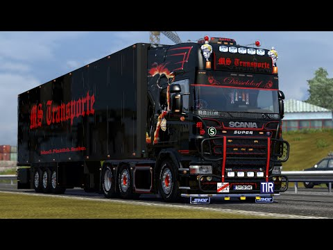 Driving Scania R | Euro Truck Simulator 2 | Full Gameplay 2015