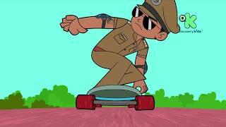 Wenig Singham aur Junglee Joker ka circus | Offizielle Song | Reliance Animation